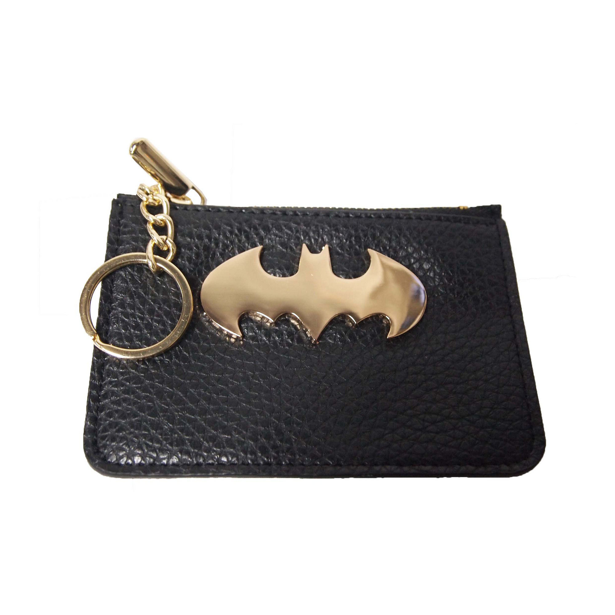 Batman / Batgirl Keyring Coin Purse