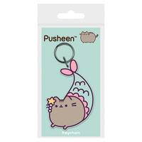 Pusheen Mermaid PVC Keyring
