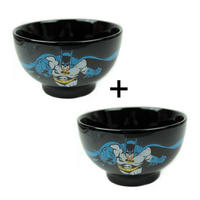 2 x Batman Dark Knight Ceramic Bowls Thumbnail 1