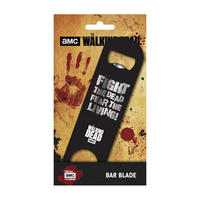 The Walking Dead Bar Blade Bottle Opener