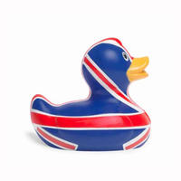 Mini Union Jack Bud Duck