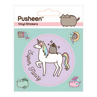 Pusheen Super Fancy Sheet of Vinyl Stickers