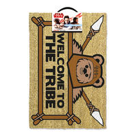 Star Wars Welcome to the Ewok Tribe Door Mat
