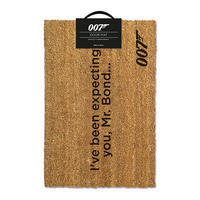 "James Bond ""I've Been Expecting you, Mr Bond"" Door Mat"