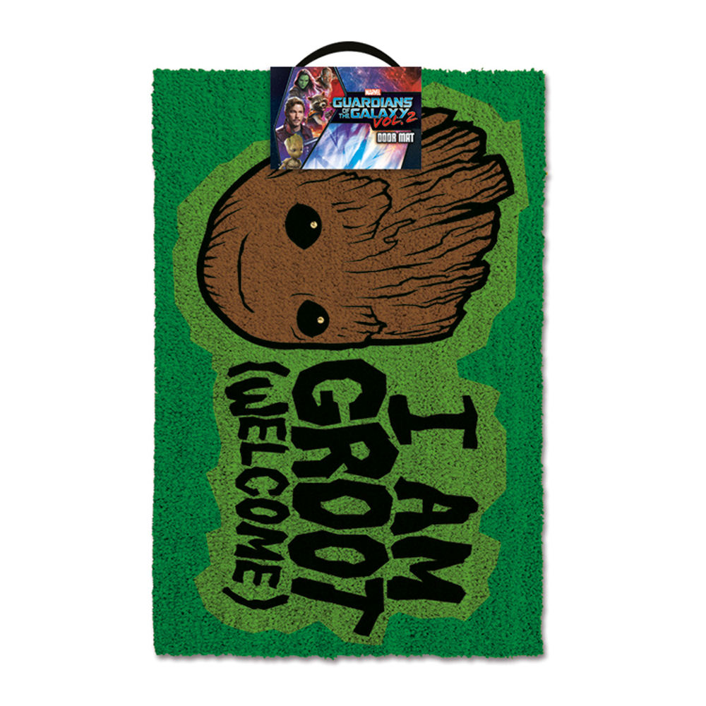 "Guardians of the Galaxy ""I Am Groot - Welcome"" Door Mat"