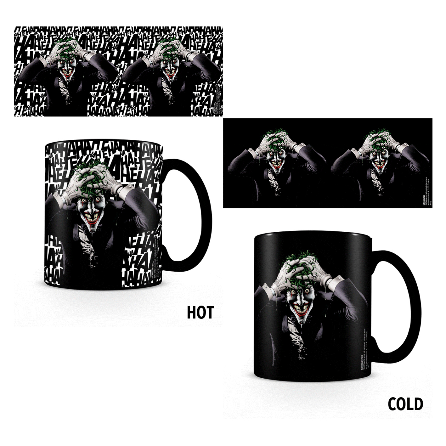 The Joker The Killing Joke Heat Change Mug