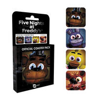 Five Nights at Freddy's Set of 4 Coasters