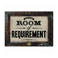 Harry Potter Room of Requirement A3 Large Steel Sign Thumbnail 1