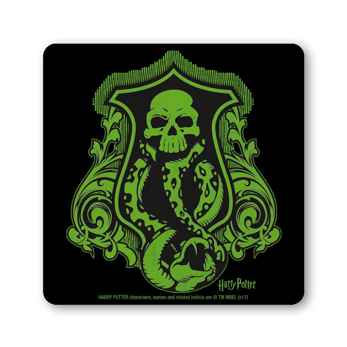Harry potter death eater sign coaster mat skull snake voldemort harry potter death eater sign coaster mat skull snake voldemort malfoy bellatrix biocorpaavc Images