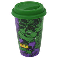 Hulk Retro Comic Ceramic Travel Mug