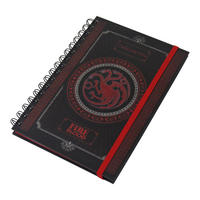 Game of Thrones Targaryen A5 Notebook Thumbnail 1