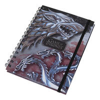 Game of Thrones Stark & Targaryen A5 Notebook Thumbnail 1