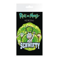Rick & Morty Get Schwifty PVC Keyring