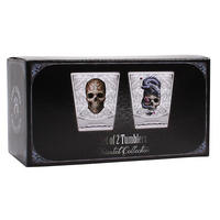 Anne Stokes Oriental Skull & Dragon Set Of 2 Tumblers Thumbnail 3
