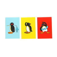 Set of 3 Pingu Mini Notebooks