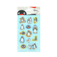 Pingu Puffy Shaker Stickers