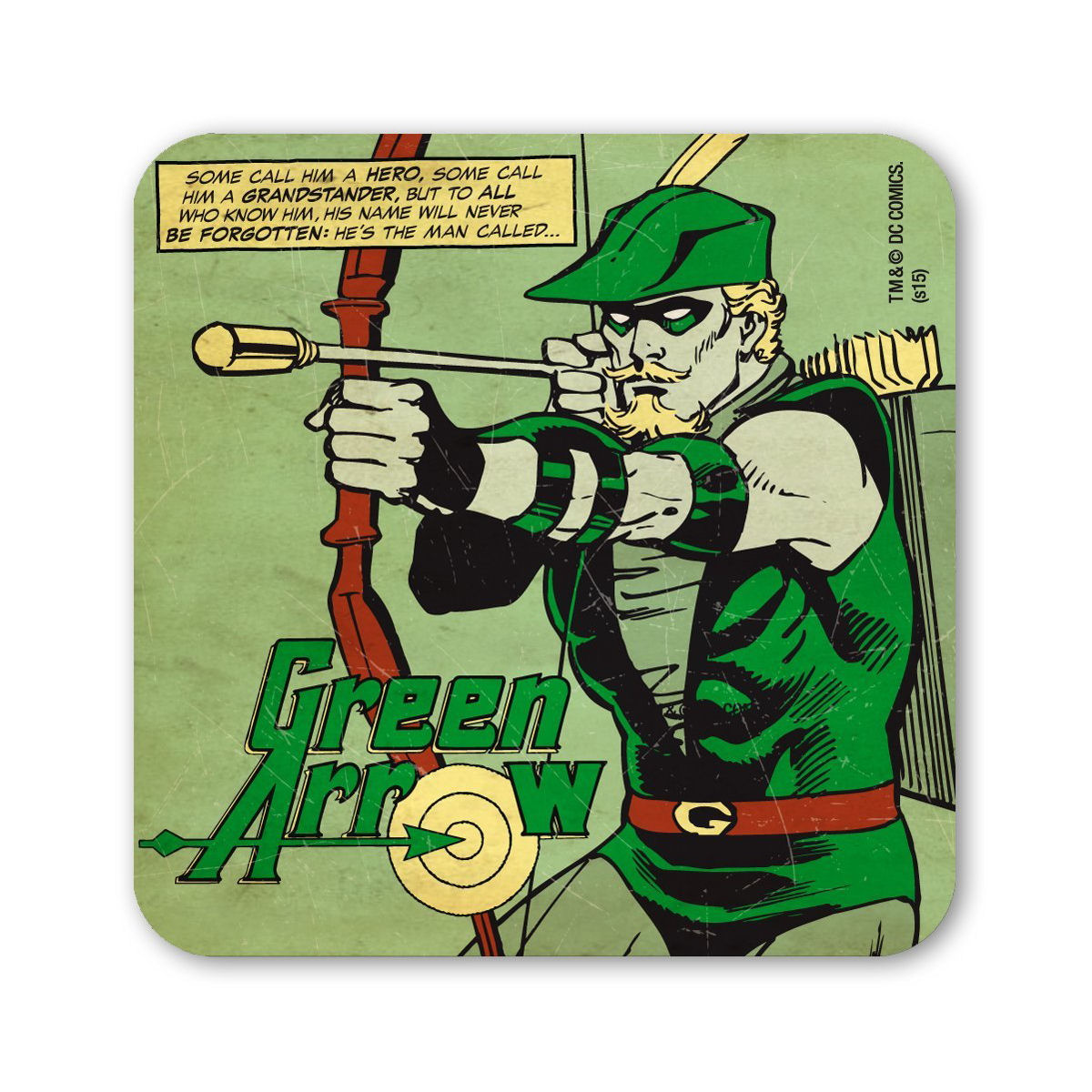 DC Comics Green Arrow Single Coaster