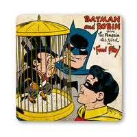 Batman & Robin Give The Penguin The Bird Coaster
