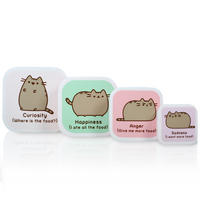 Set of 4 Pusheen Nesting Lunch Boxes