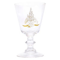 Beauty & The Beast Rose Glass Goblet Thumbnail 2