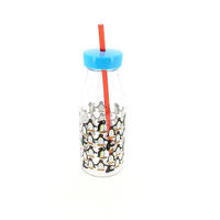 Pingu Drinks Bottle With Straw