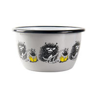 The Moomins Stinky 300ml Enamel Bowl