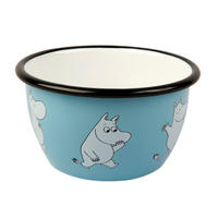 The Moomins Moomintroll 600ml Enamel Bowl