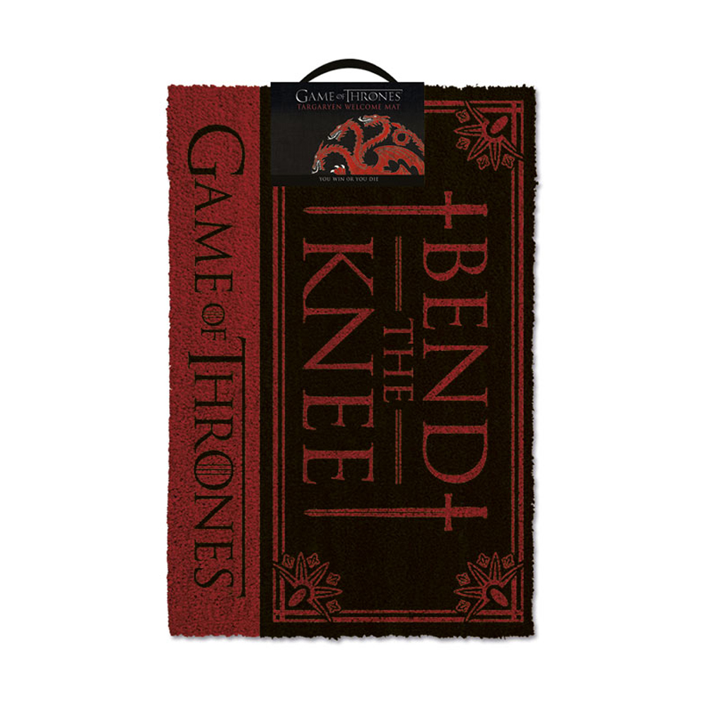 Game of Thrones Bend The Knee Door Mat