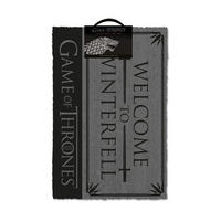 Game of Thrones Welcome To Winterfell Door Mat Thumbnail 1