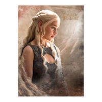 Game of Thrones Daenerys Targaryen Postcard Thumbnail 1
