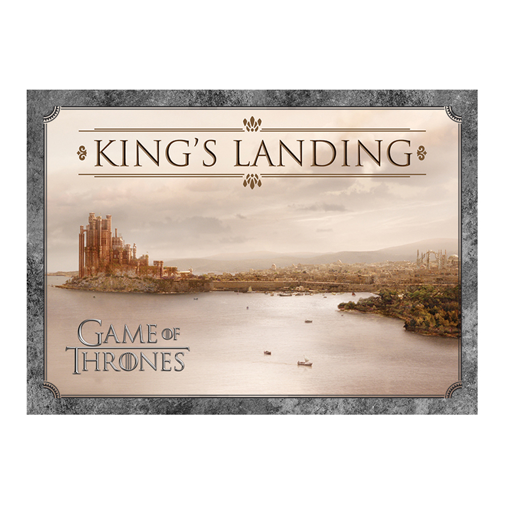 Game of Thrones King's Landing Postcard