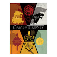 Game of Thrones Sigils Postcard
