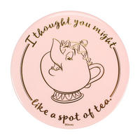 Beauty & The Beast Set of 2 Mrs Potts & Chip Ceramic Coasters Thumbnail 2