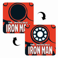 Invincible Iron Man 3D Lenticular Coaster