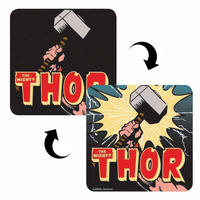 Mighty Thor 3D Lenticular Coaster