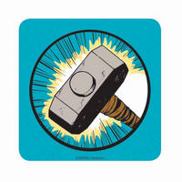 Thor Hammer Icon Coaster