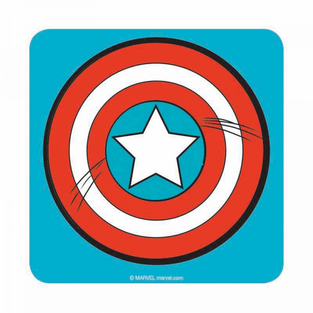 Captain America Shield Icon Coaster