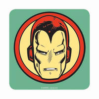 Iron Man Head Icon Coaster