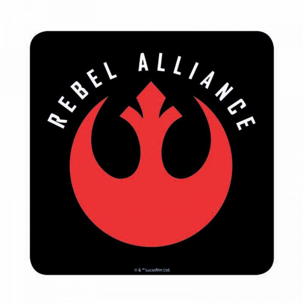 Star Wars Rebel Alliance Symbol Coaster Coasters Kitschagogo