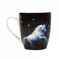 Anne Stokes Moonlight Unicorn Heat Change Mug Thumbnail 3