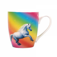 Anne Stokes Moonlight Unicorn Heat Change Mug Thumbnail 4