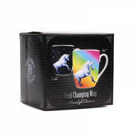 Anne Stokes Moonlight Unicorn Heat Change Mug Thumbnail 6