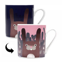 Jolly Awesome Let's Make Like Rabbits Heat Change Mug