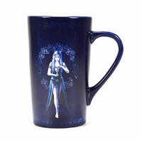 Anne Stokes Enchantment Fairy Heat Change Latte Mug Thumbnail 2
