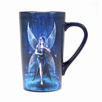 Anne Stokes Enchantment Fairy Heat Change Latte Mug Thumbnail 4