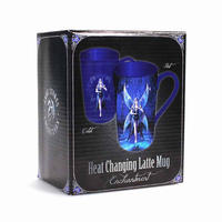 Anne Stokes Enchantment Fairy Heat Change Latte Mug Thumbnail 6