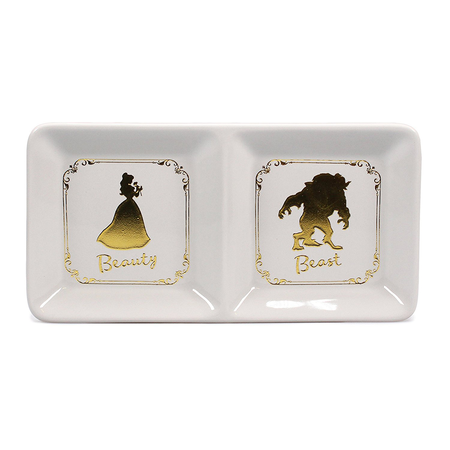 Beauty & The Beast Ceramic Trinket Tray