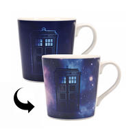 Doctor Who Tardis Galaxy Heat Change Mug Thumbnail 1