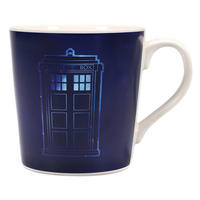 Doctor Who Tardis Galaxy Heat Change Mug Thumbnail 2