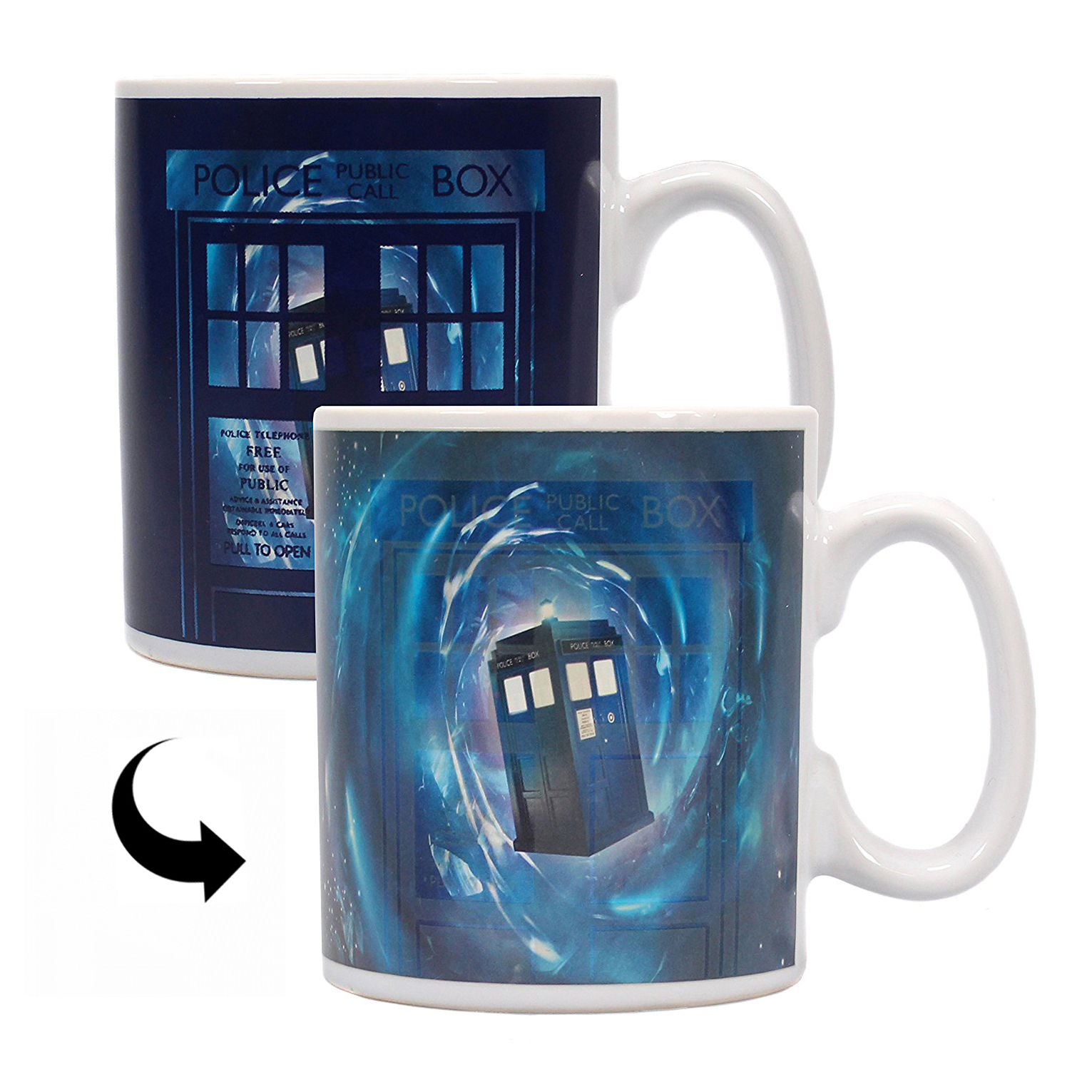 Doctor Who Time Lord Heat Change Mug